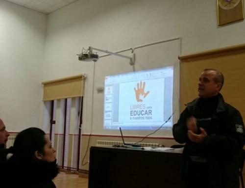 Charla: Derecho a la libertad de educación en el colegio Infantes