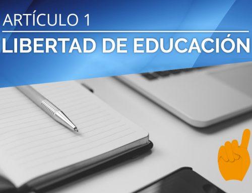 LIBERTAD DE EDUCACIÓN